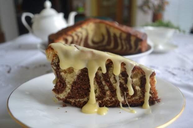 Самый Влажный пирог Зебра лучший рецепт ❤️