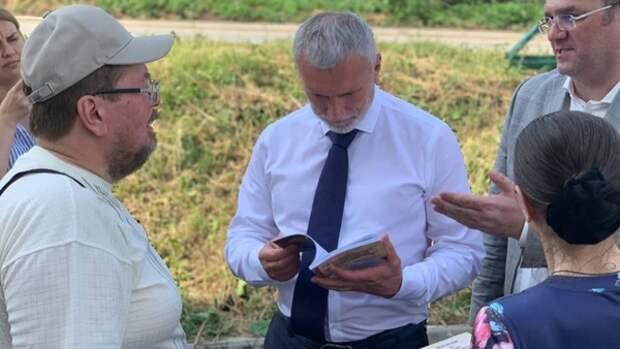 """Председатель партии """"Родина"""" Журавлев посетил Владимирскую и Ивановскую области"""
