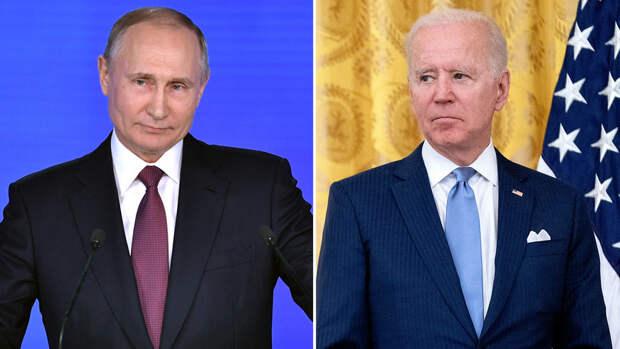 Стало известно, во сколько начнется саммит Путина и Байдена