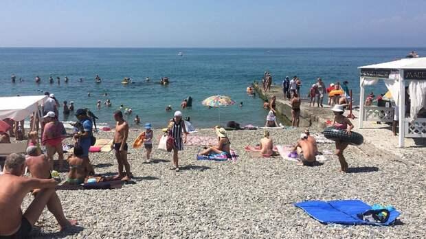 Гидрометцентр назвал сроки наступления пляжного сезона на курортах России