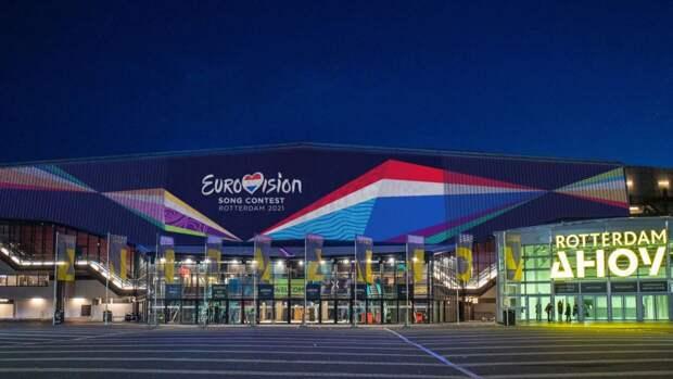 Церемония открытия Евровидения прошла в Роттердаме