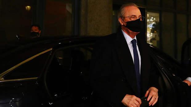 Президент «Реала» назвал виновного вразвале Суперлиги
