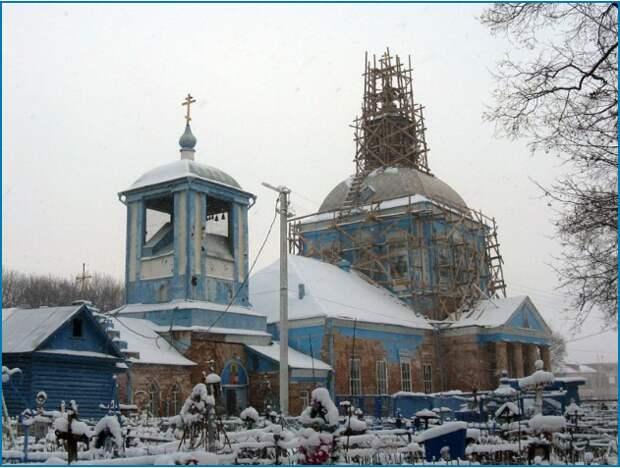Скорбященская церковь Мичуринск ремонт 2009