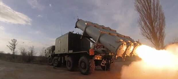 Черноморский флот провёл учения с выполнением ракетной стрельбы