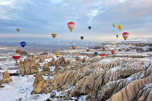 Горные лыжи, воздушные шары и другое Золотое кольцо: зачем ехать в Турцию зимой
