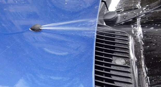 Как почистить форсунки стеклоомывателя