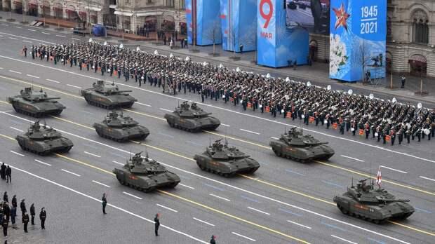 Красота и мощь: новейшие образцы вооружения показали на параде Победы