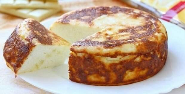Нежный десерт! Рецепт творожной запеканки со вкусом белого шоколада