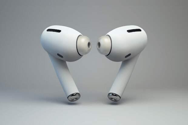 Раскрыт дизайн беспроводных наушников Apple третьего поколения