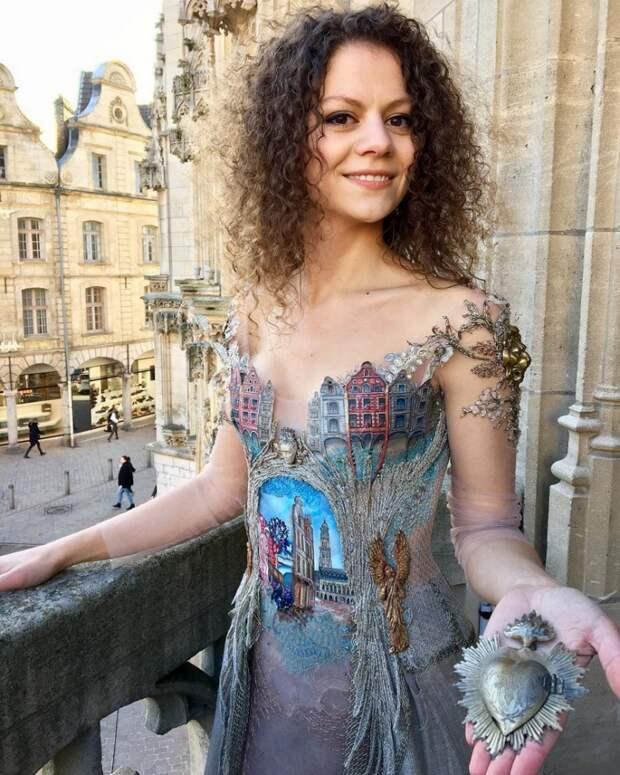 Платья как искусство: Sylvie Facon
