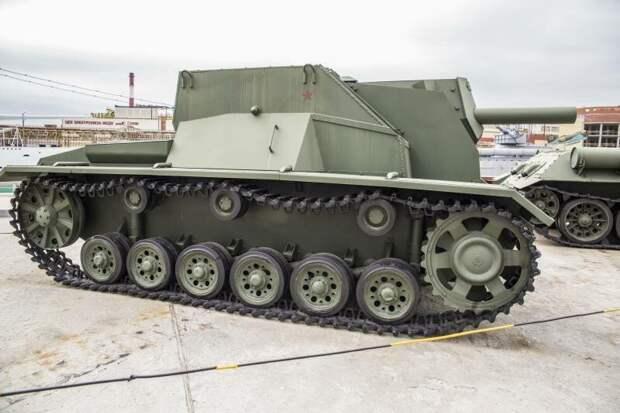 Из танка в САУ САУ СГ-122, рассказы об оружии, страницы  истории