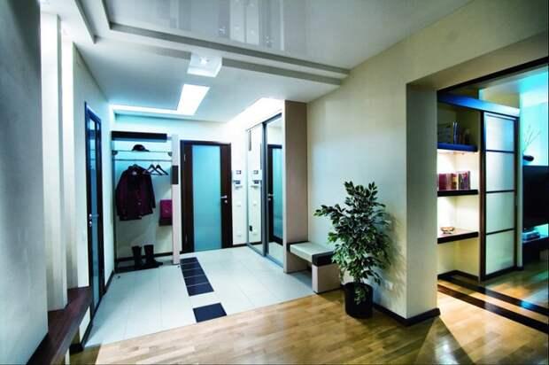 5 идей, как использовать бесполезную площадь большого коридора в квартире