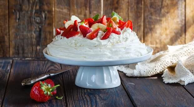 Как приготовить вкуснейший торт Павлова дома?