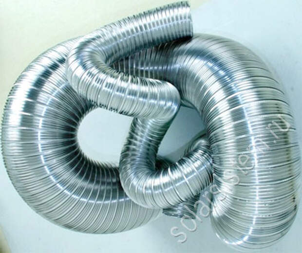 гофрированный алюминиевый воздуховод