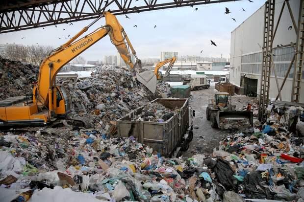 Минфин предложил отложить строительство мусоросжигательных заводов