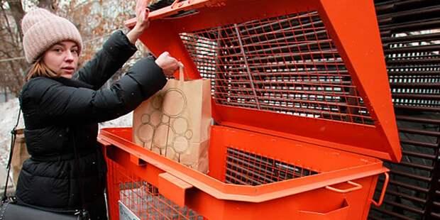 Доступ к контейнерам для вторсырья на Чугунных Воротах открыт — Жилищник
