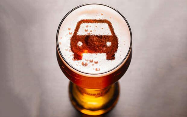 Можно ли пить пиво в машине? А в стоячей? А пассажиру?