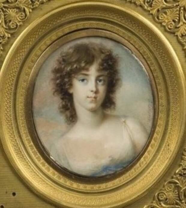 Софья Нарышкина, дочь Александра I.