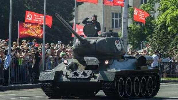 Парад Победы в ДНР, 24 июня 2020 года