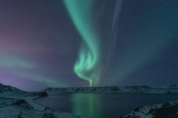 Ученые описали полярное сияние нового типа