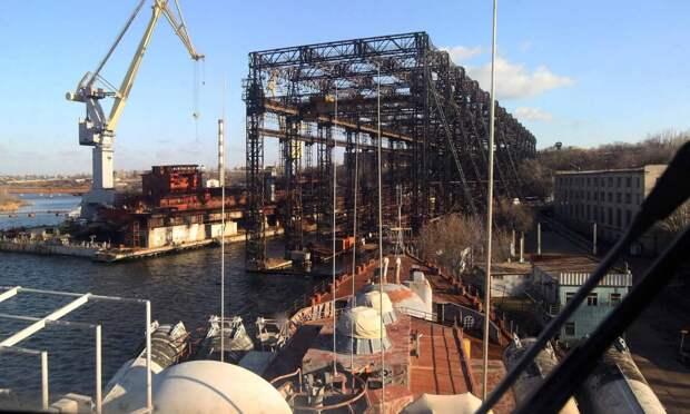 Николаевский судостроительный завод - основа украинского военно-морского могущества
