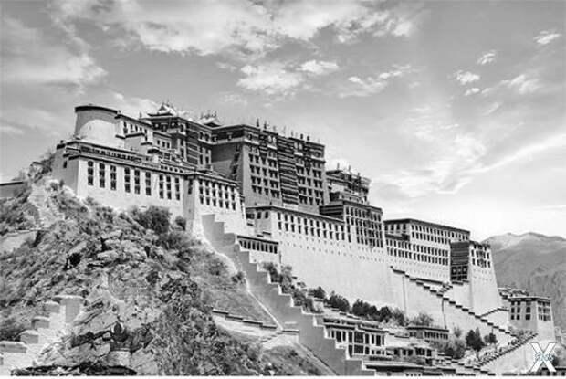 Дворец далай-ламы в Потале
