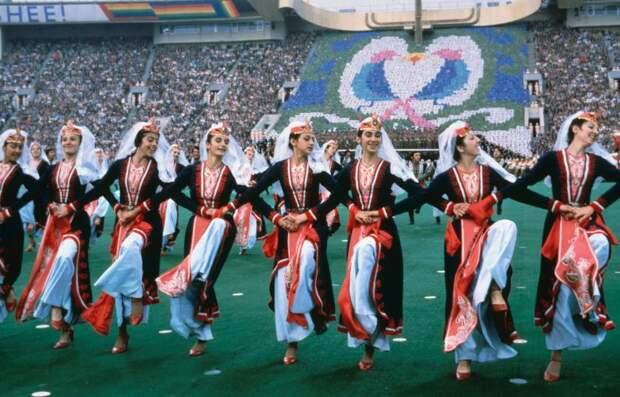 Церемонии открытия летних Олимпийских игр в 1980 – 2012 годах