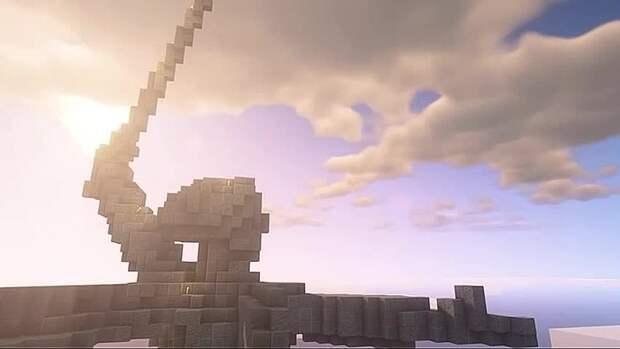 """Школьники собрали копию монумента """"Родина-мать зовёт!"""" в Minecraft. Четвероклашка..."""