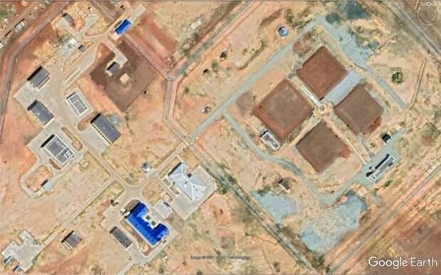 Опубликованы спутниковые снимки работ по размещению первого полка «Авангардов»