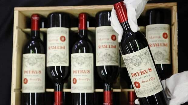 «Космическое» вино продается с аукциона за 1 млн долларов