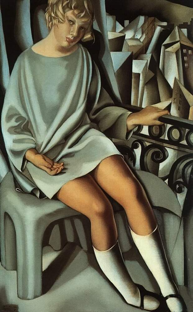 Тамара де Лемпицка – мастер эпатажа и уникальная художница, при жизни ставшая миллионершей