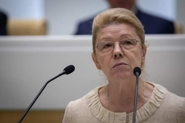 Сенатор Елена Мизулина
