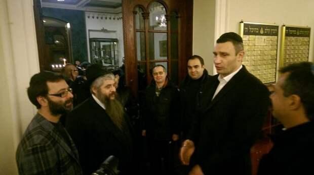 Кличко рекомендует евреям Киева молиться заПетлюру иОУН-УПА