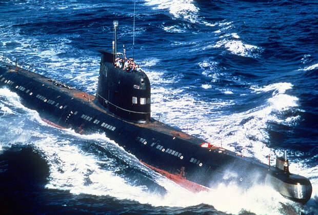 Субмарина «Фокстрот» проекта 641