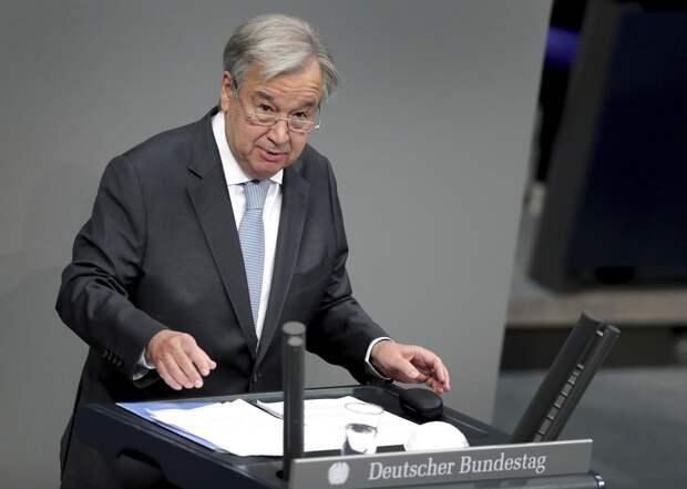 Генсек ООН призвал Израиль и Палестину прекратить обстрелы