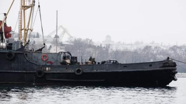 Украина «взяла в плен» ещё одно российское судно