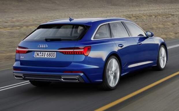 Новый Audi A6 Avant: элегантность превыше всего