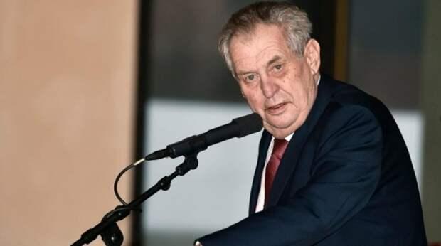 """Президент Чехии сделал заявление о """"российских агентах"""" из-за взрыва склада боеприпасов"""