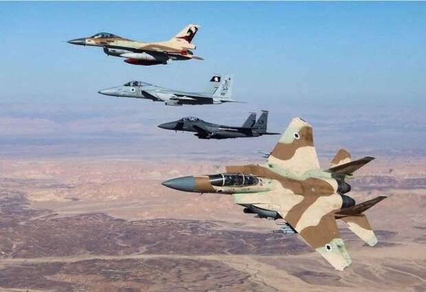 СМИ: ВВС Израиля атакуют несколько городов всекторе Газа