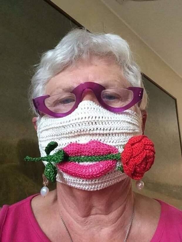 Бабушка психанула