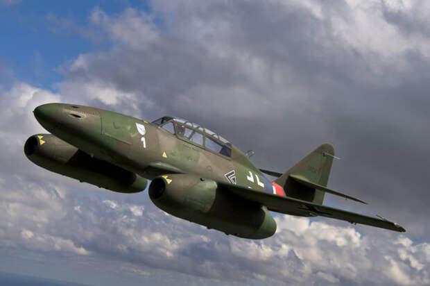 Немецкий реактивный самолет. |Фото: warbirdsnews.com.