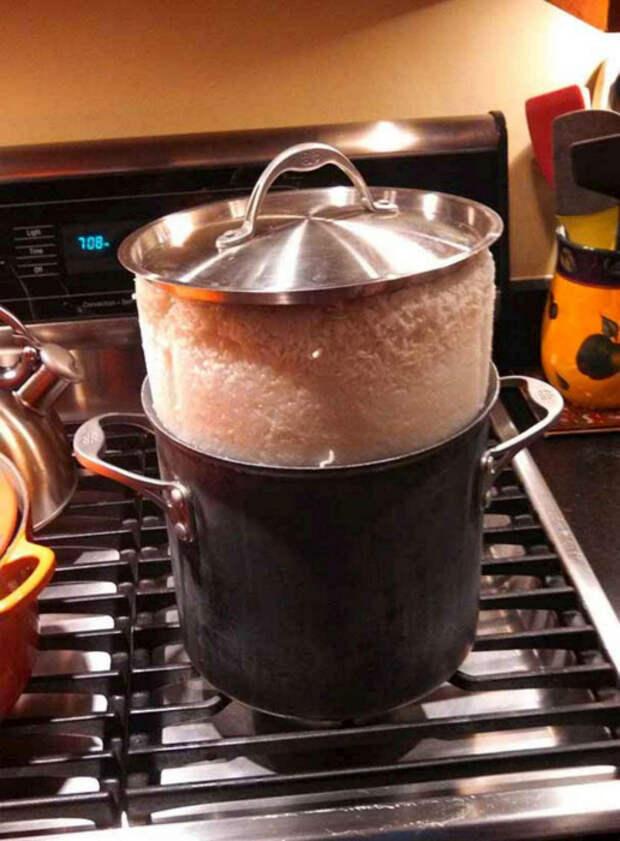 Уверены, так рис вы еще не готовили. | Фото: ScreenHumor.