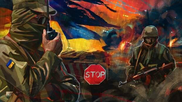 МИД РФ обвинил Киев в переброске техники к линии соприкосновения в Донбассе