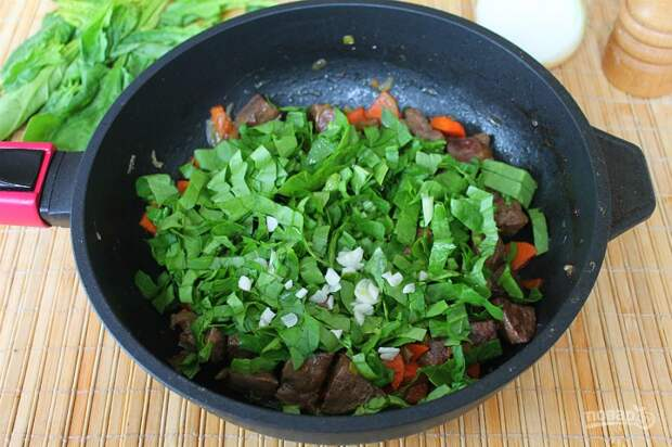 Приготовление печени с овощами