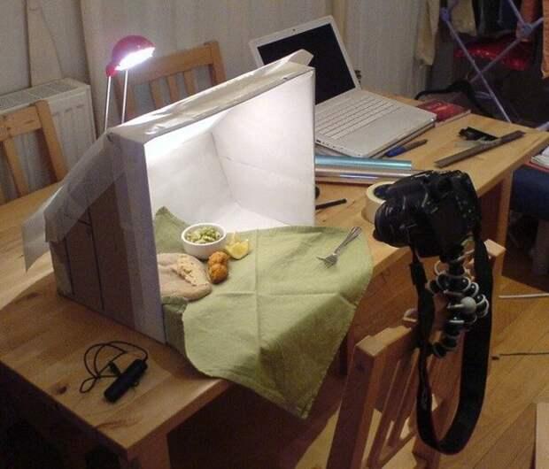 ФОТОЛЮБИТЕЛЯМ. Как сделать лайт-бокс для предметной съёмки