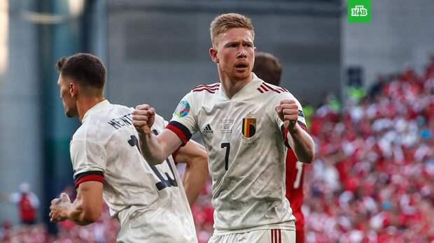 Евро-2020: Бельгия одержала волевую победу над Данией и помогла России