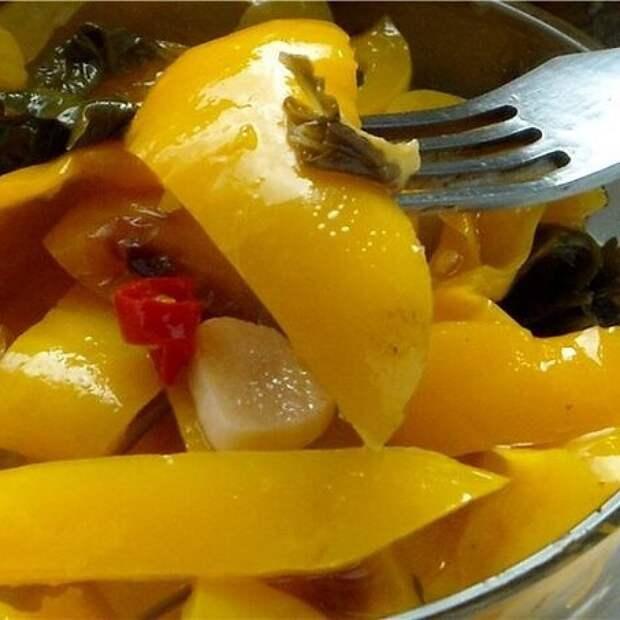 Запеченый сладкий перец в масле – заготовка на зиму в итальянском стиле