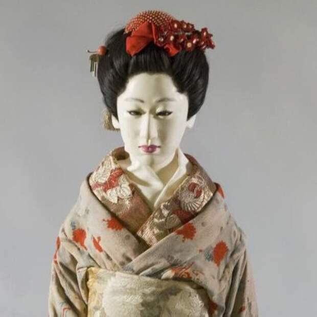 Портретная кукла гейши О-Мацу