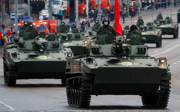 Техника Парада Победы: от Тайфуна до Урана
