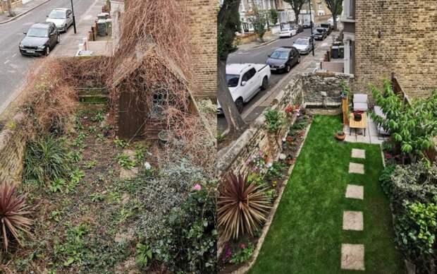 Из кучи грязи в райское местечко: пользователи показали, во что они превратили свой сад во время карантина